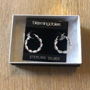 Bloomingdales Earrings - Sterling Silver Hoops